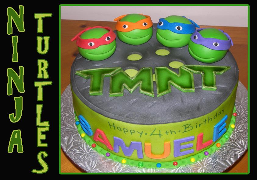 Ninja Turtles Birthday Cake Boy